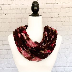 ALFRED SUNG Floral Wrap Scarf
